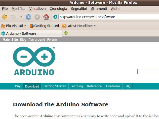 Installare arduino su ubuntu michele maffucci