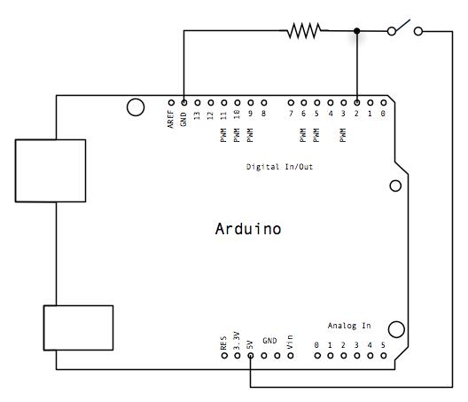 Schema Elettrico Pulsante Alzacristalli : Arduino lezione controlliamo un led con pulsante