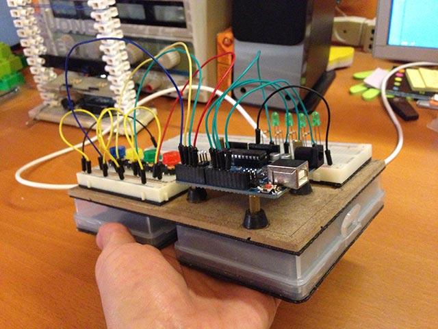 Favoloso Costruire una basetta sperimentale estesa portatile per circuiti  EH58